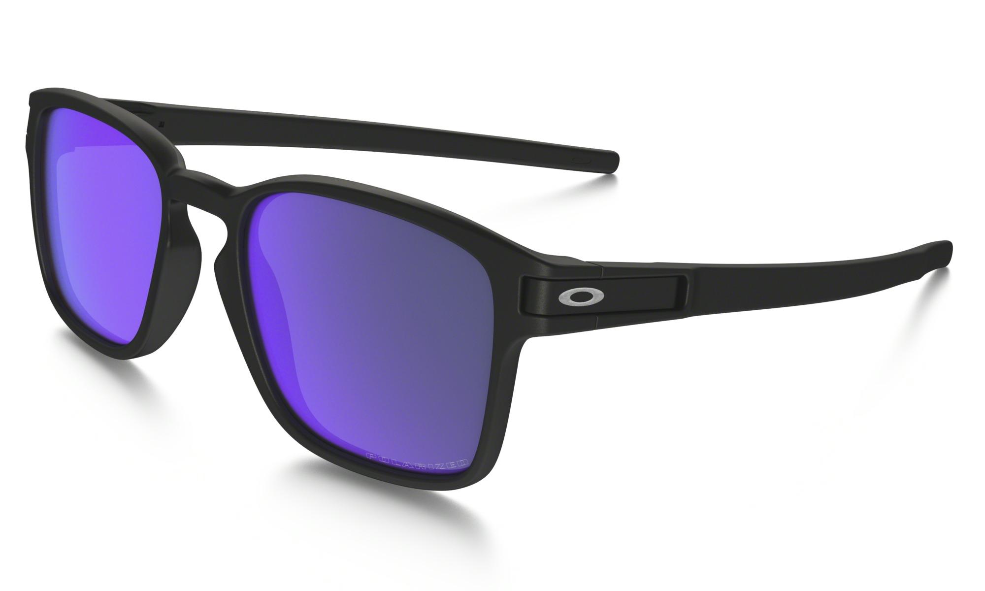 Oakley Latch SQ Iridium Polarized Sonnenbrille Klar CjKG3