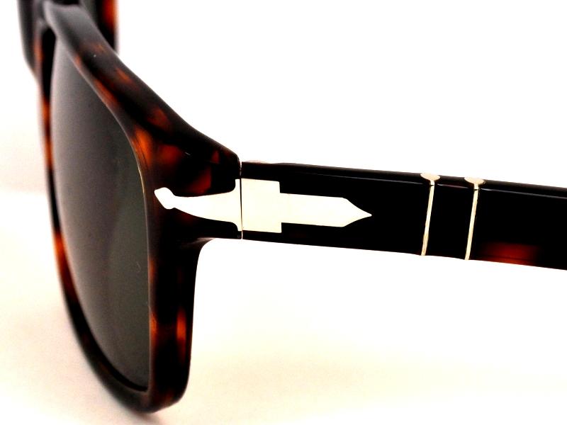 1b4e6377324 ... Persol PO 3048S 24 31 58mm Sonnenbrillen von Persol   4 +. Persol.  Havana   Crystal Green