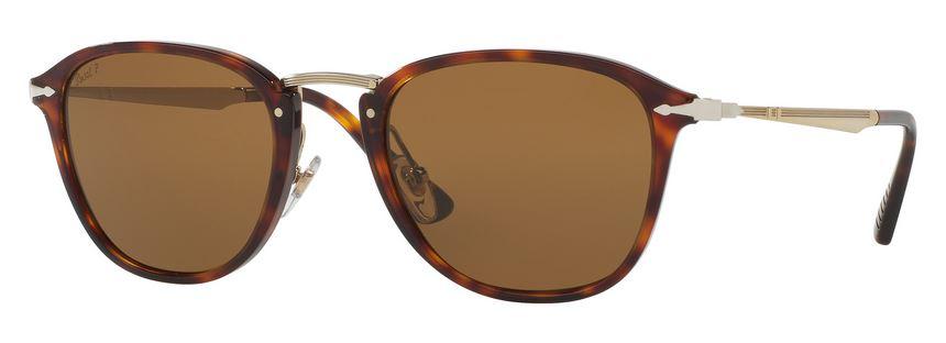 Persol PO3165S Sonnenbrille Havanna 105771 52mm FDUWOfO
