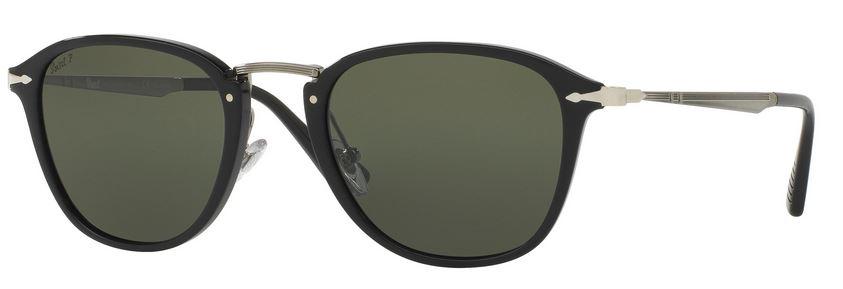 Persol PO3165S Sonnenbrille Schwarz 95/58 Polarisiert 52mm E1dSdvDHCN