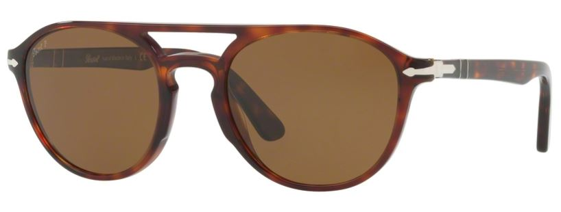 Persol PO3170S Sonnenbrille Havanna 901531 52mm O5N67aBY