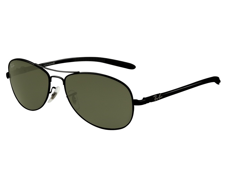 Ray-Ban RB8301 Sonnenbrille Schwarz 002 59mm yRhf8Iz