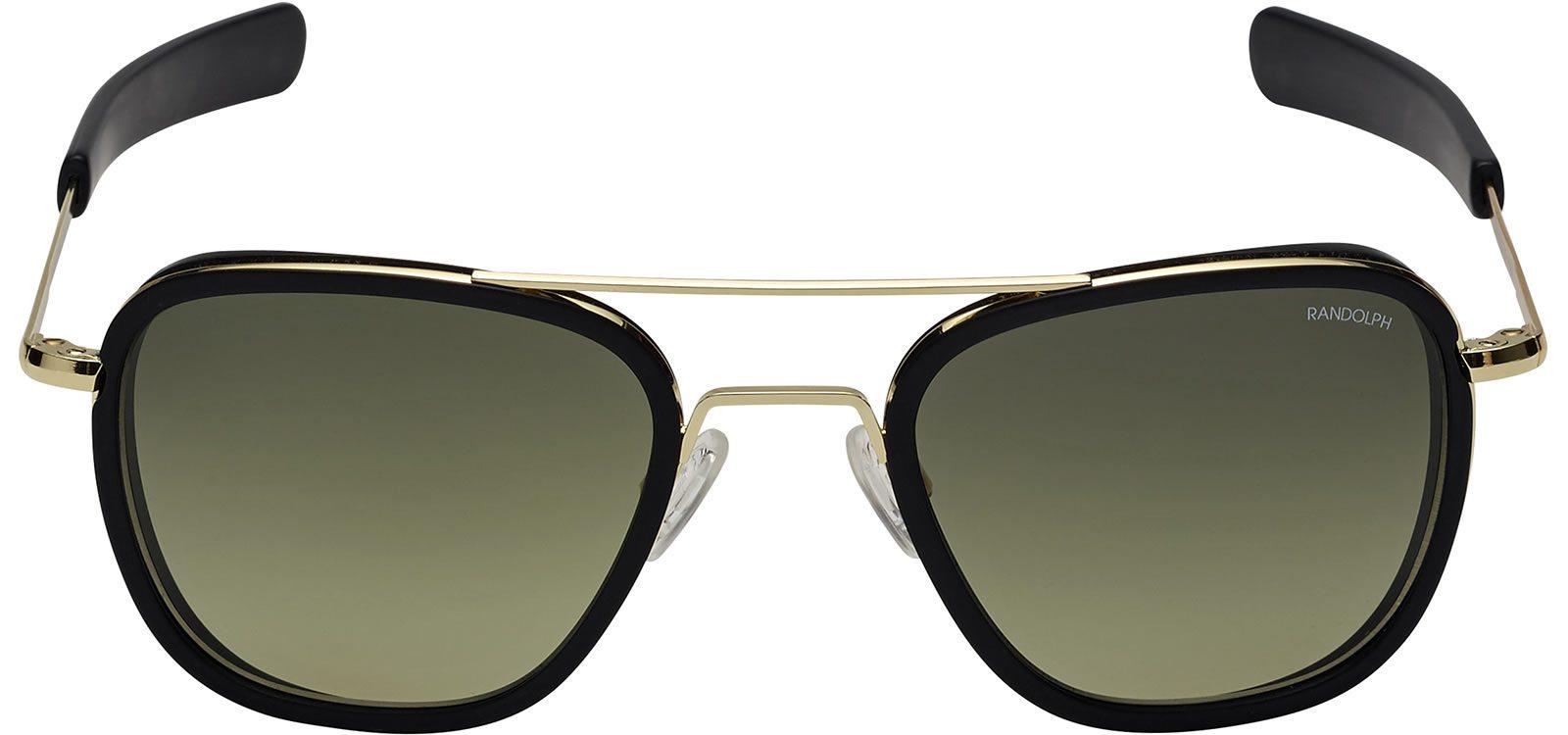 a36cc1a52b9 Randolph Aviator AI004 Gold 23K Green Gradient 58mm Sonnenbrillen von Randolph  Engineering   1 + ...