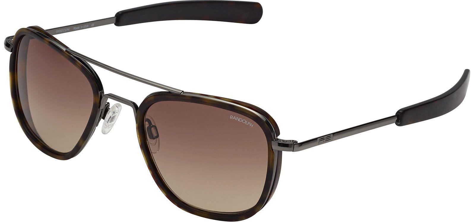 5899275f6b1 ... Randolph Aviator AI007 Gunmetal Tan Gradient 58mm Sonnenbrillen von Randolph  Engineering   2 + ...