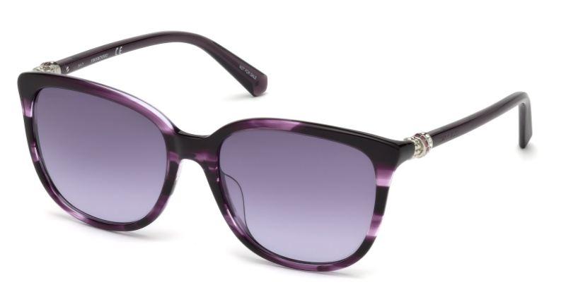 Swarovski Damen Sonnenbrille » SK0146-H«, braun, 45G - braun/braun