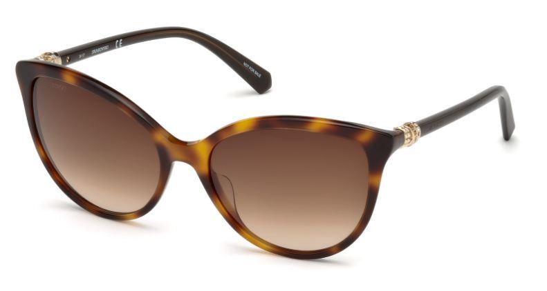 Swarovski Damen Sonnenbrille » SK0147«, braun, 52G - braun/braun