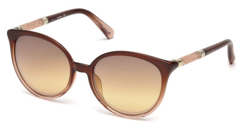 Swarovski Damen Sonnenbrille » SK0149-H«, braun, 50G - braun/braun