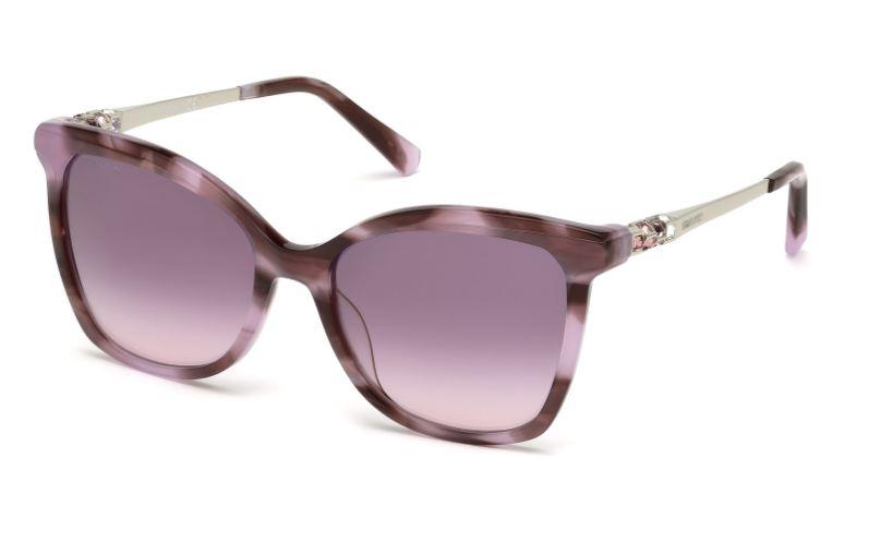 Swarovski Damen Sonnenbrille » SK0154-H«, schwarz, 01C - schwarz/grau