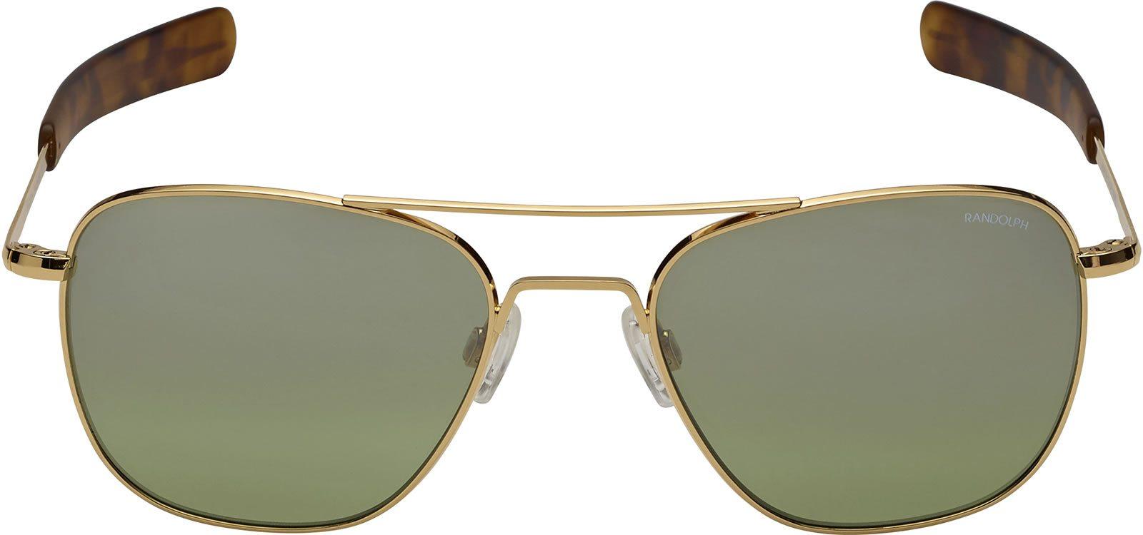 4a1b467ead8 Randolph Aviator AF218 Gold 23K Jade Inf.. 58mm Sonnenbrillen von Randolph  Engineering