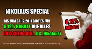 Nikolaus Aktion 6,12% bei Optilens