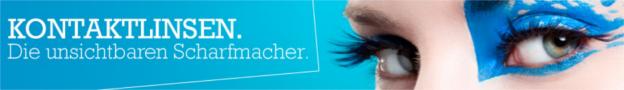 Kontaktlinsen-Banner